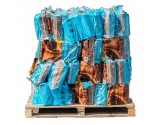 FIRE LOGS Kiln-Dried Hardwood (ASH WOOD) - 56x 20 litre bags on pallet