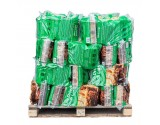FIRE LOGS Kiln-Dried Hardwood (BIRCH WOOD) - 56x 20 litre bags on pallet