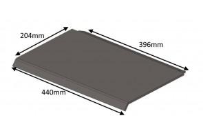 HH06120 Hunter Steel THROAT PLATE (SUPERSEDED BRICK BAFFLE HH06065) | Herald 6 MK2 | Herald 6 CE | Consort 7 CE