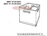 "000179 Baxi Ashbox 18"" LIFT OUT ASHBOX (SUITS 18"" 20"" 22"" & 24"" Burnall & Standard)"