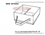 "000180 Baxi Ashbox 13.25 Inches OUTSIDE ASHBOX (SUITS 16"" 18"" Burnall)"
